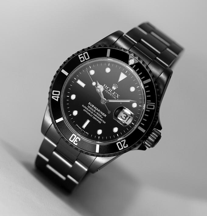 Rolex Sub schwarz 2 klein