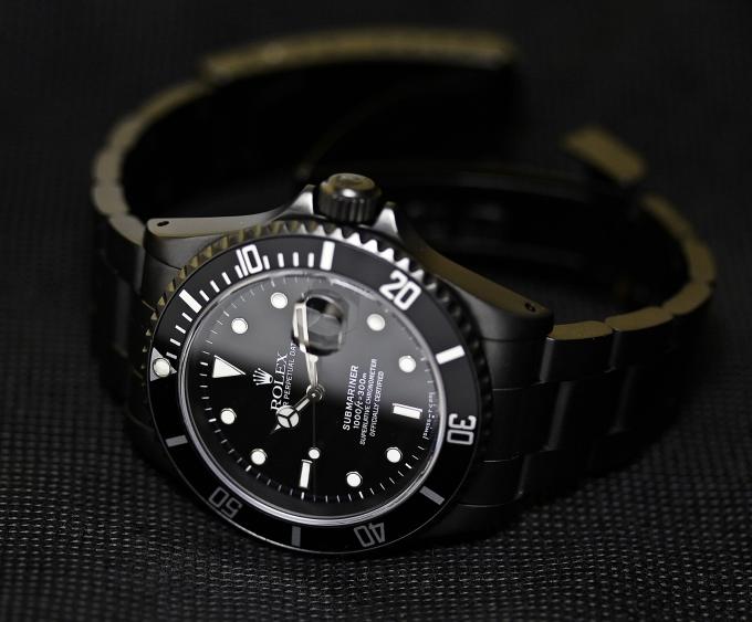 Rolex Sub schwarz 5