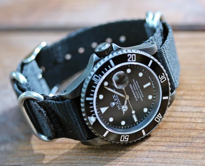 Rolex Sub schwarz 7