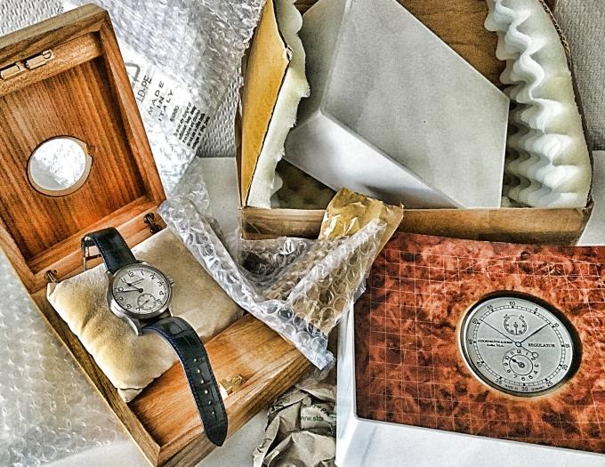 Uhren versenden, wie und mitwem?