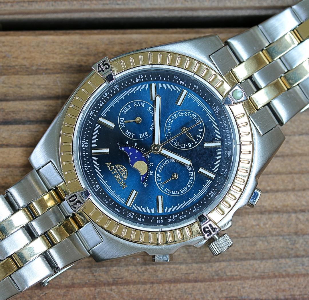 Splendor Uhren der härte test discovery blue astron sie wissen schon die