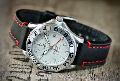 Omega seamaster GMT white 6JPG