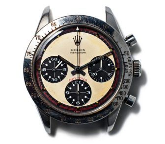 Rolex Daytona Paul Newman Referenz 6239 mit Exotic Dial (Foto: Wall Street Journal)